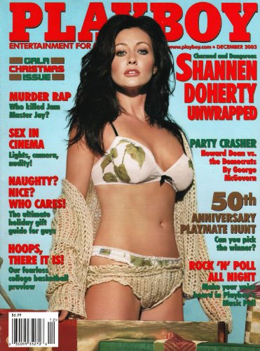 December 2003, Playboy Magazine - Vintage Men's Adult Magazine Back Issue