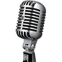 Shure 55SH SERIES II Microfone Clássico para Vozes, Loja Oficial, 2 Anos de Garantia