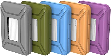 ORICO Funda Disco Duro Externo 3.5 para Western Digital WD Seagate Toshiba Samsung,5 Colores: Amazon.es: Electrónica