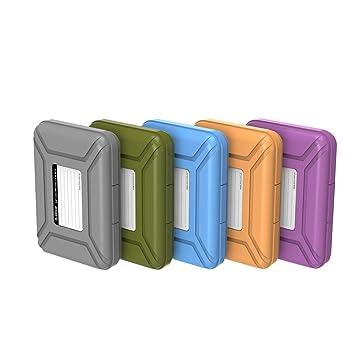 ORICO Funda Disco Duro Externo 3.5 para Western Digital WD Seagate Toshiba Samsung,5 Colores