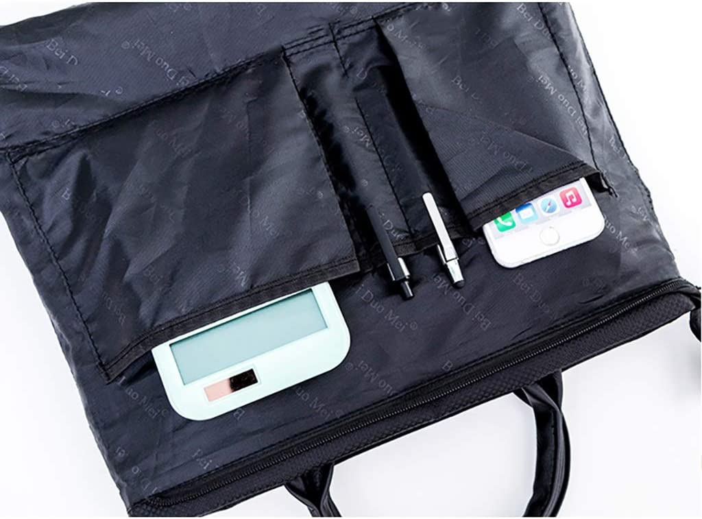 QSJY File Cabinets Business Document Bag Canvas Durable Briefcase Document Laptop Travel Bag 38x32x5.5cm Size : 38x32x5.5cm