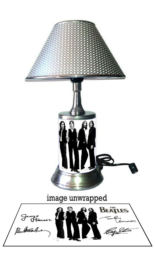 The Beatles Lamp with chrome shade - - Amazon.com