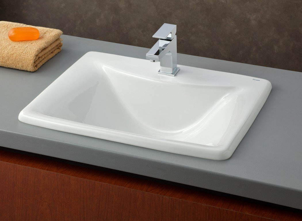Cheviot Products Inc. 1188-WH-1 Bali Drop In Basin, White by Cheviot Products Inc.