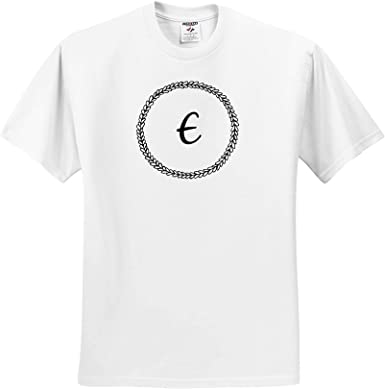 3dRose Merchant-Quote Image of Doodly I Monogram T-Shirts