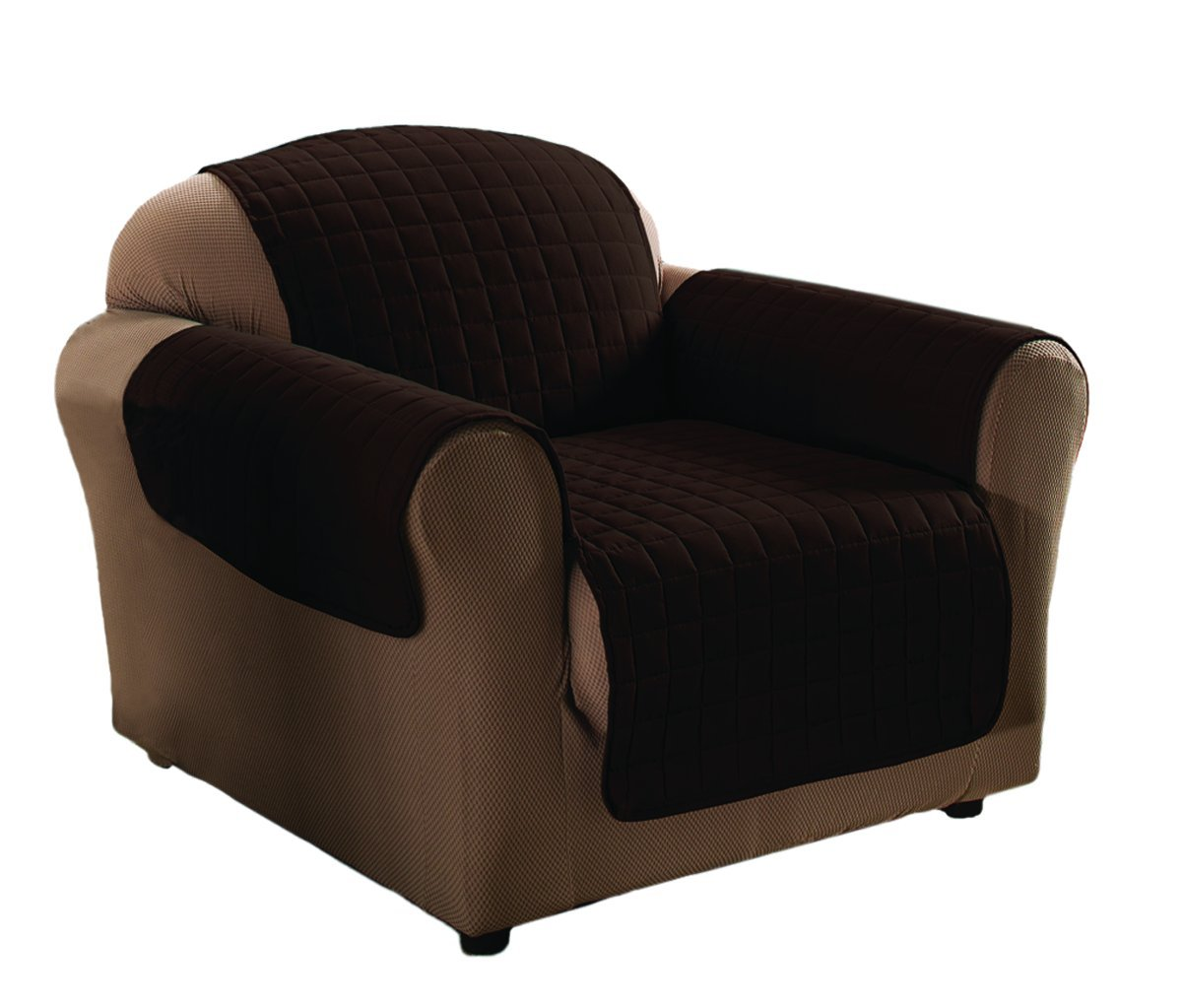 Innovative Textile Microfiber Chair Furniture Protector, Chocolate Jeffrey Fabrics MCHAIR chocolate