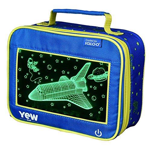 (Igloo 81062 Astronaut Kids Lunch Box, 9.5 x 4.75 x 7.5)