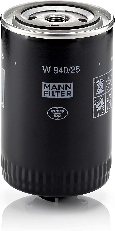 Original Mann Filter Ölfilter W 940 25 Für Pkw Und Nutzfahrzeuge Auto