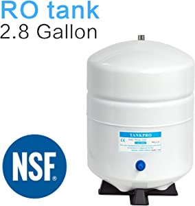2.8 Gallon RO Water Storage Tank for Reverse Osmosis Water Filtration Systems -NSF Certificated