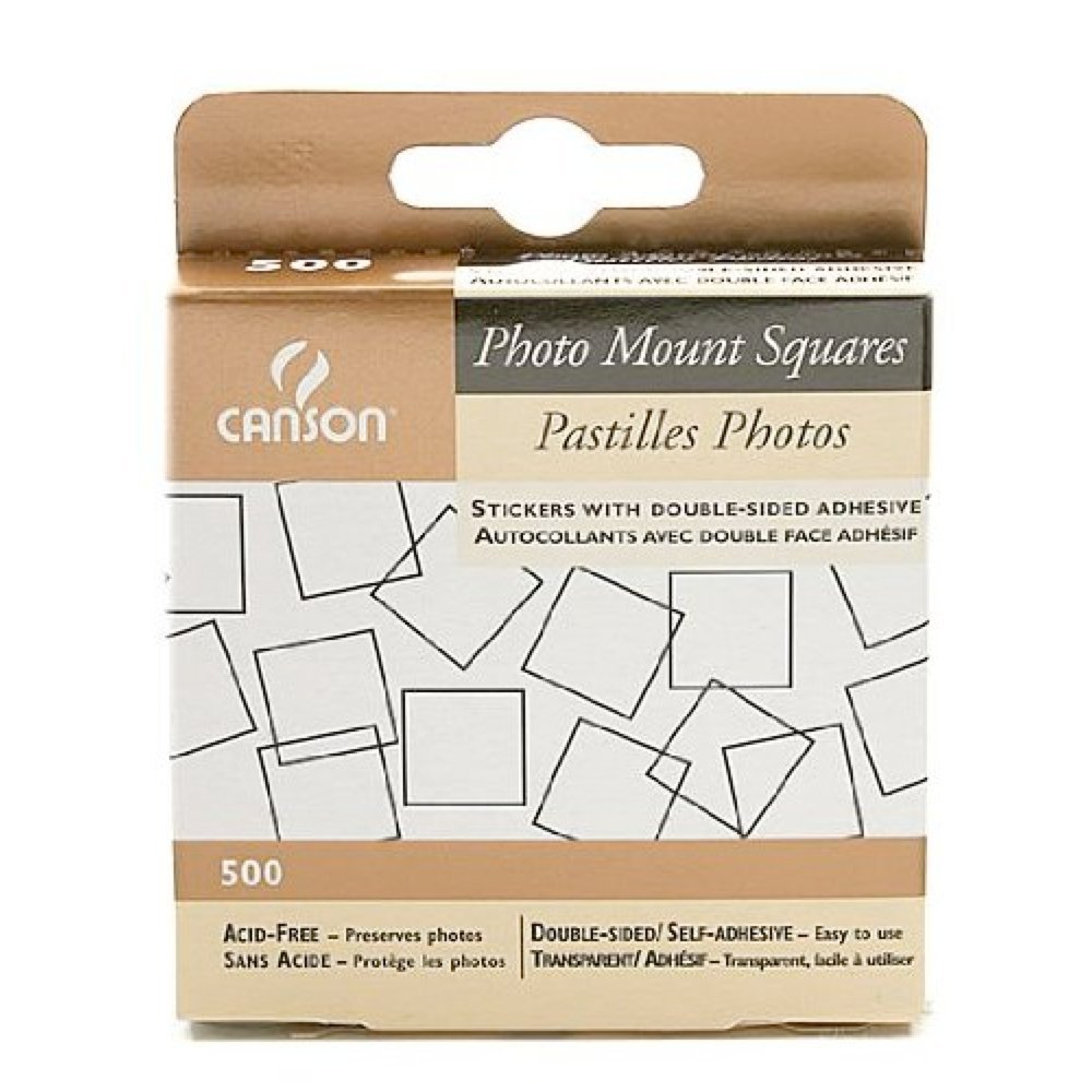 Canson Photo Mounting Squares Pkg 500 CANSON TALENS