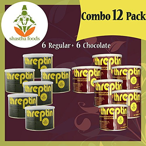 Threptin -(Combo-Pack of 12) Each 275 Grams by Shastha Foods