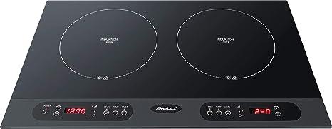 Steba 06.71.00 - Hornillo eléctrico, 3100 W, color negro