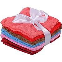 AKIN TOWEL 450 GSM Cotton Soft Towels (Multicolour) - Set of 6 Pieces