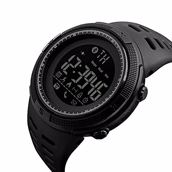 Men Outdoor Sport Smart Watch Fashion Digital Watches Fitness Tracker Bluetooth ios 4.0 Android Waterproof Wristwatch