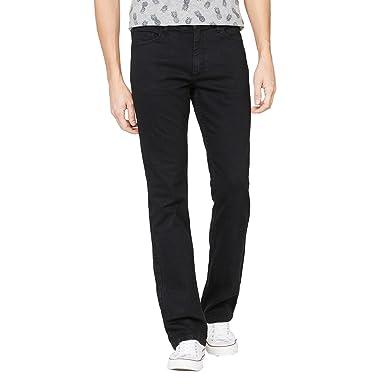 4ea11bd33514 La Redoute Collections Mens Bootcut Stretch Denim Jeans Black Size 30  Length 34