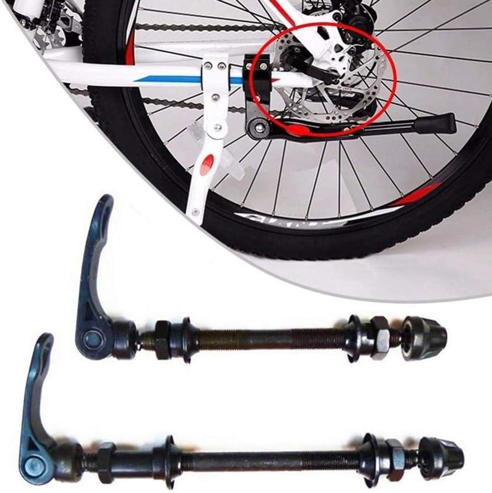 Eje Bicicleta De Liberaci/ón R/ápida En El Eje Frontal Trasera De Bicicletas Eje De La Rueda Hub Adaptador De Eje Pasante De Piezas De Bicicletas De La Bici del Camino De Bicicletas De Monta/ña