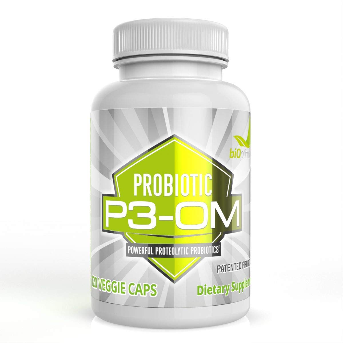 P3-OM - Best Probiotics for Women and Men - Dr. Formulated - No Refrigeration Needed - Patented Single Strain - Boosts Immunity - Supports Digestive Health (120)