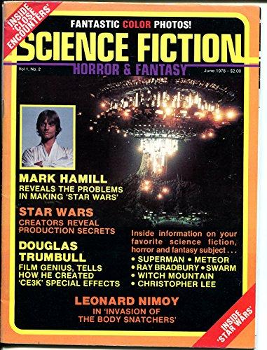 Science Fiction Horror & Fantasy 6/1978-Mark Hamill-Star Wars-Leonard Nimoy-FN