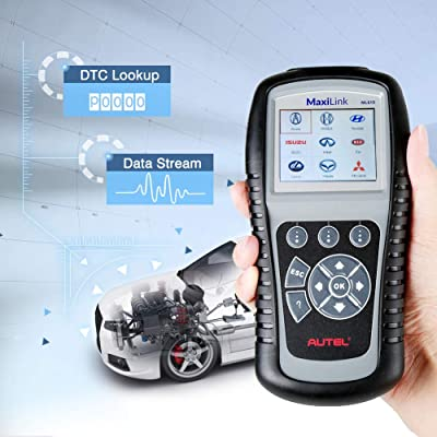 Autel ML619 is one of the best OBD2 scanner that works on most 1996 and newer vehicles (OBDII & CAN)