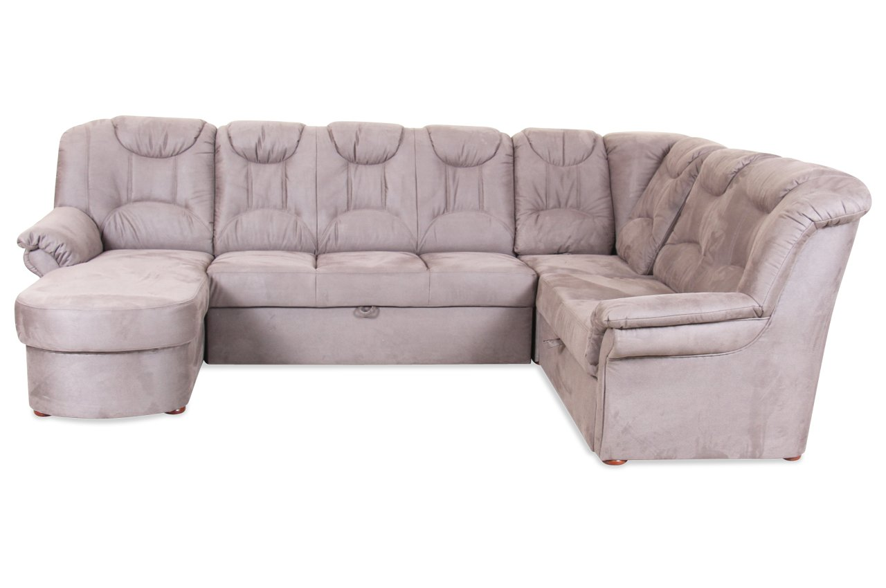 Sofa matex wohnlandschaft linus mit relax und for Luxus wohnlandschaft