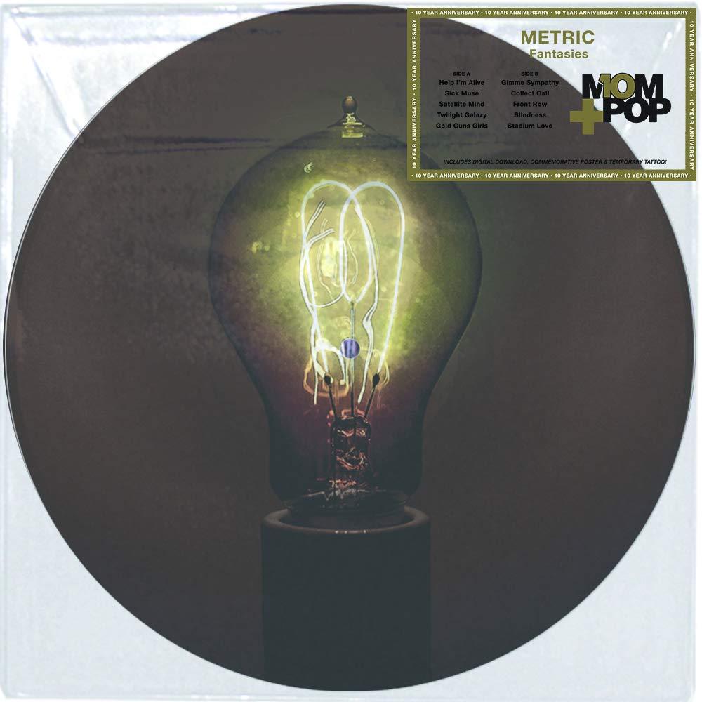 Vinilo : Metric - Fantasies (Picture Disc Vinyl LP, Digital Download Card)