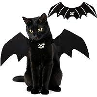 Halloween Cat Bat Wings Costume Pet Cosplay Vampire Dress Up Apparel Small Dog Christmas Clothes Bat Skeleton Bone Wing…