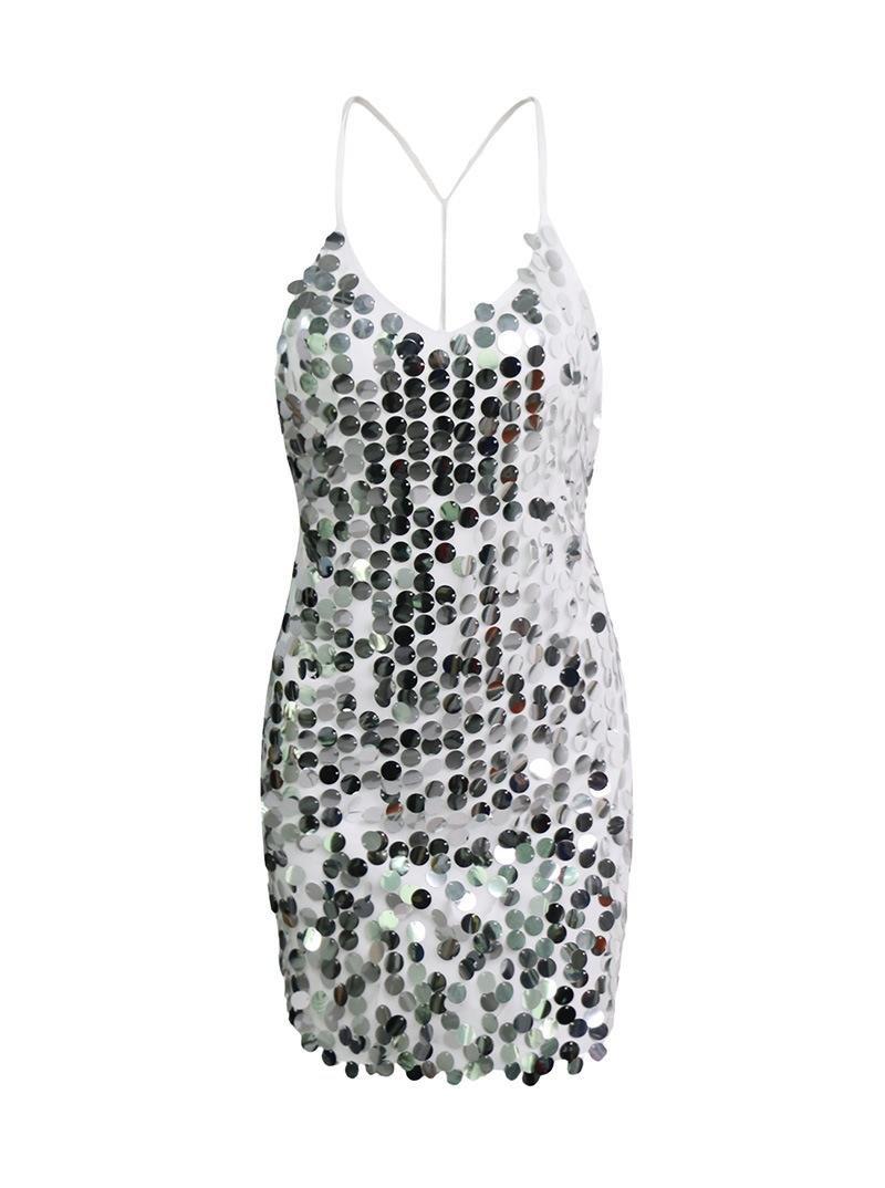 Unbekannt ZLL Frühling und Sommer Kleid Damen Mode sexy sexy sexy rückenfreie Pailletten Gurt, XS B073PVLYQX Bekleidung Rechtzeitige Aktualisierung de8be5