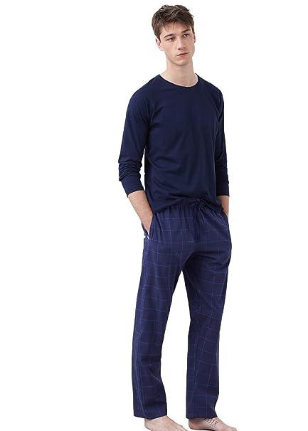 MANGO MAN - Pijama - para hombre azul L