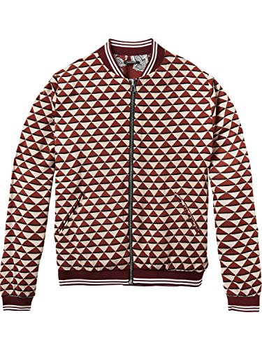 Femme Veste Combo Printed Scotch Bomber Soda Jacket Reversible amp; Sporty with Ribs Multicolore 17 A Z1xwqv4Z