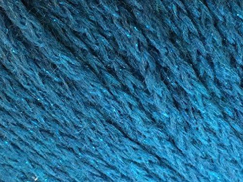 Moda Sera (Lana Grossa Alta Moda Sera #009 Merino Wool Metallic Sparkle Yarn 50 Gram)