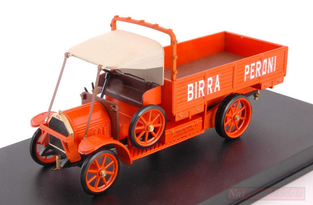 NEW Rio RI4576 FIAT 18 BL Birra PERONI 1 43 MODELLINO DIE CAST Model
