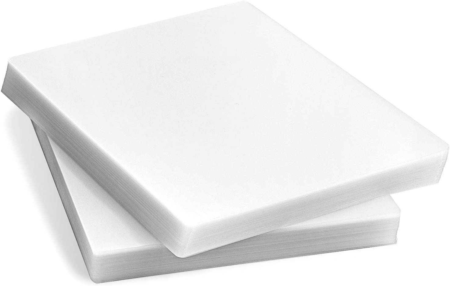 Ktrio 200 Pack Laminating Sheets 8.5 x 11 Inches, Laminating Pouches 5 Mil Clear Thermal Laminating Pouches Lamination Sheet Paper for Laminator, Round Corner Letter Size