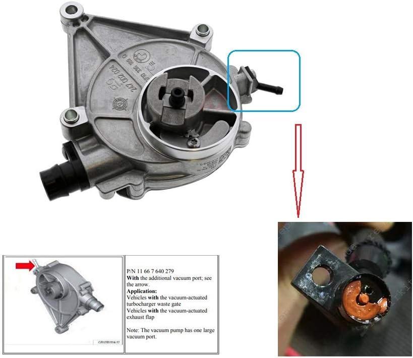 Brake Vacuum Pump Port Repair Kit For BMW 320i 328i 520i 528i ...