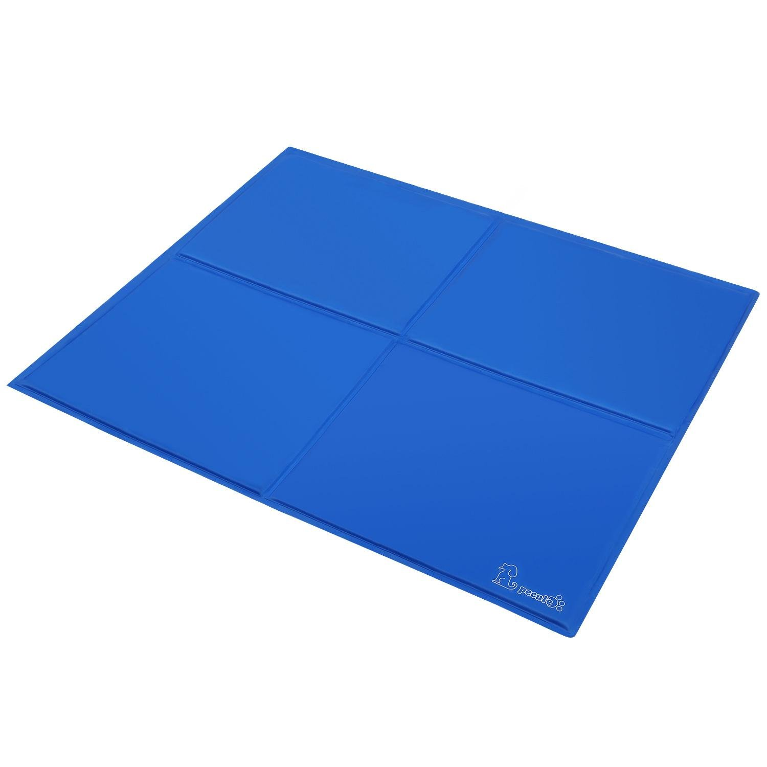 Dog Cooling Mat Extra Large 96x81cm, Non-Toxic Gel Self Cooling Pad for Pets in Hot Summer
