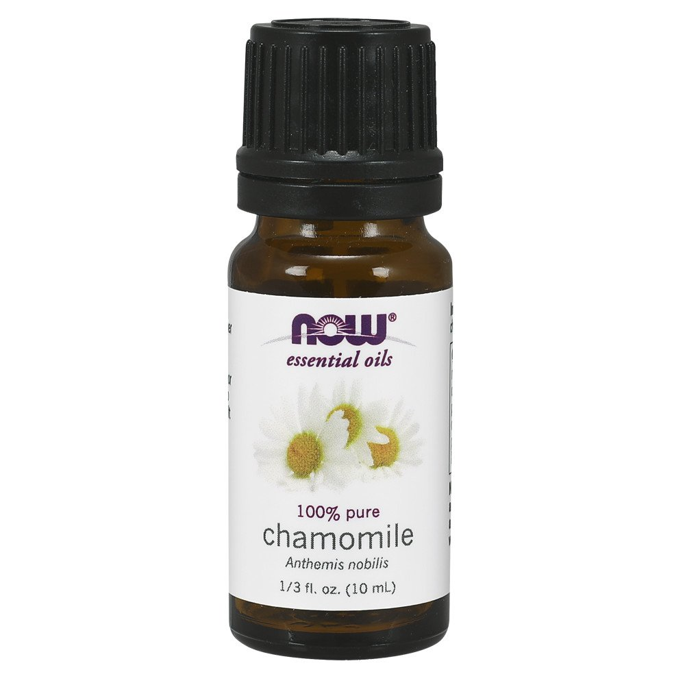 NOW Essential Oil, Chamomile, 10 ML 733739076212