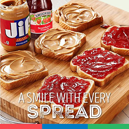 Jif Creamy Peanut Butter, 16 Ounces, 7g (7% DV) of Protein per Serving, Smooth, Creamy Texture, No Stir Peanut Butter 4