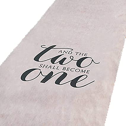 Amazon And The Two Shall Become One Wedding Aisle Runner 100 Ft