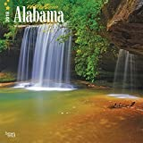 Alabama, Wild & Scenic 2018 12 x 12 Inch Monthly Square Wall Calendar, USA United States of America Southeast State Nature (Multilingual Edition)