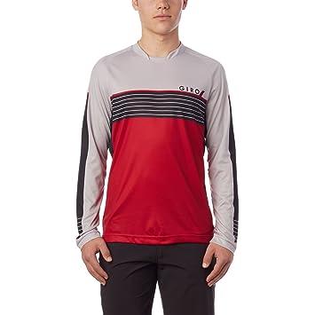 Amazon.com   Giro 2018 Men s Roust Long Sleeve Cycling Jersey   Clothing 77fdc1f6e