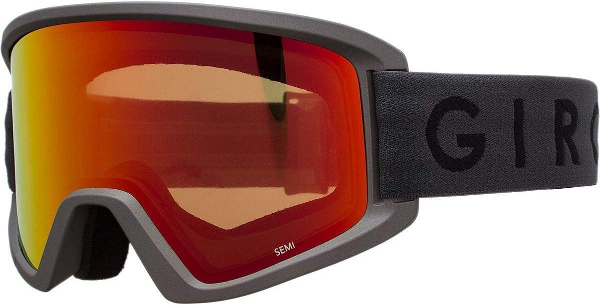 Giro セミスノーボード スキーゴーグル グレー Workmark
