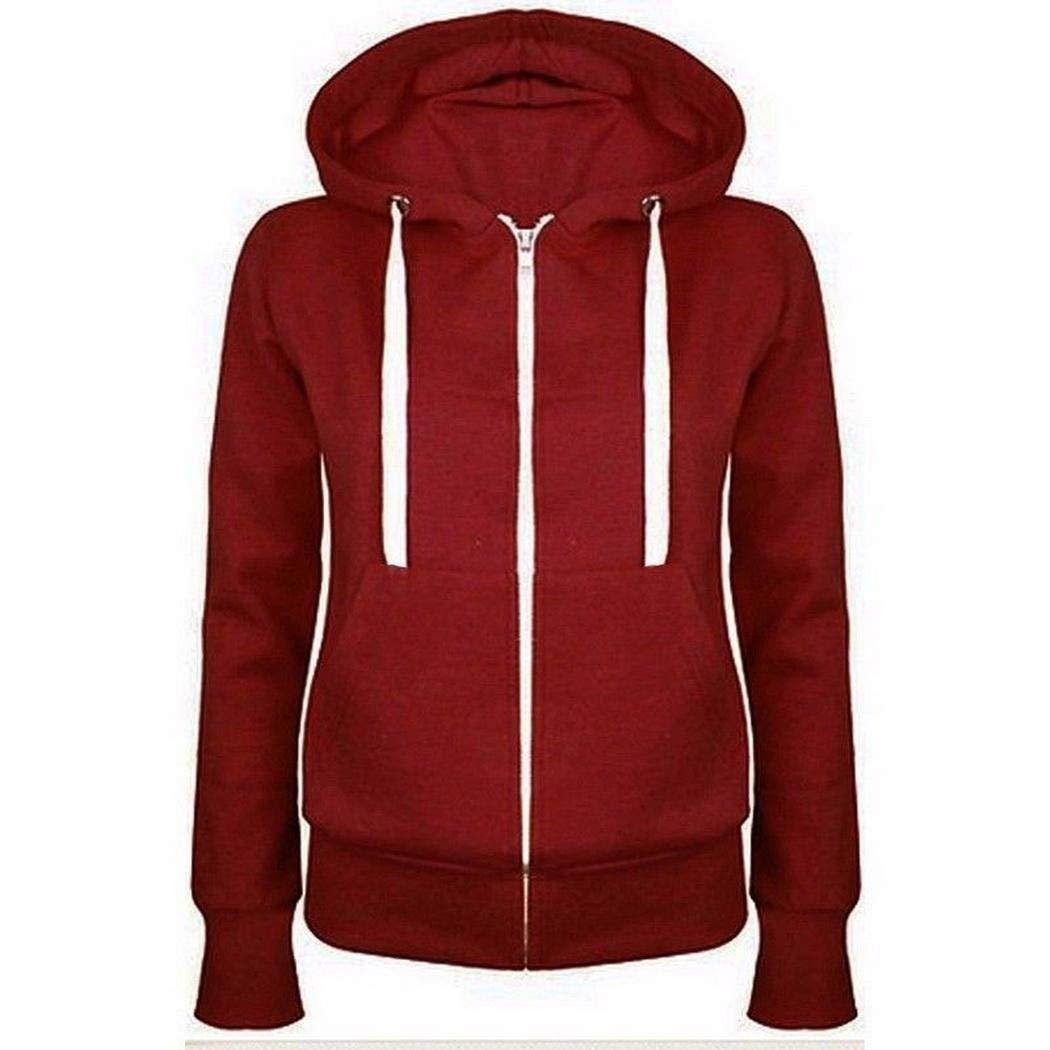 milene88 Woman Casual Sweatshirt Jacket Hooded Veleteen Lining Warm Coat Fashion Hoodies