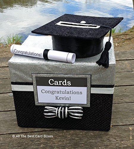 Amazon Com Graduation Card Box Party Decoration Personalized 100