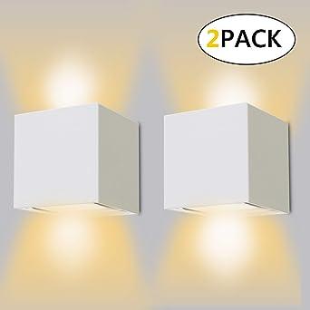 Interieurexterieur Murale Etanche Blanc 12w lampe Chaud Design Murales Salon Led Down Appliques Réglable Pour Applique 3000k Lampe Up Ip65 6bmYfgvI7y
