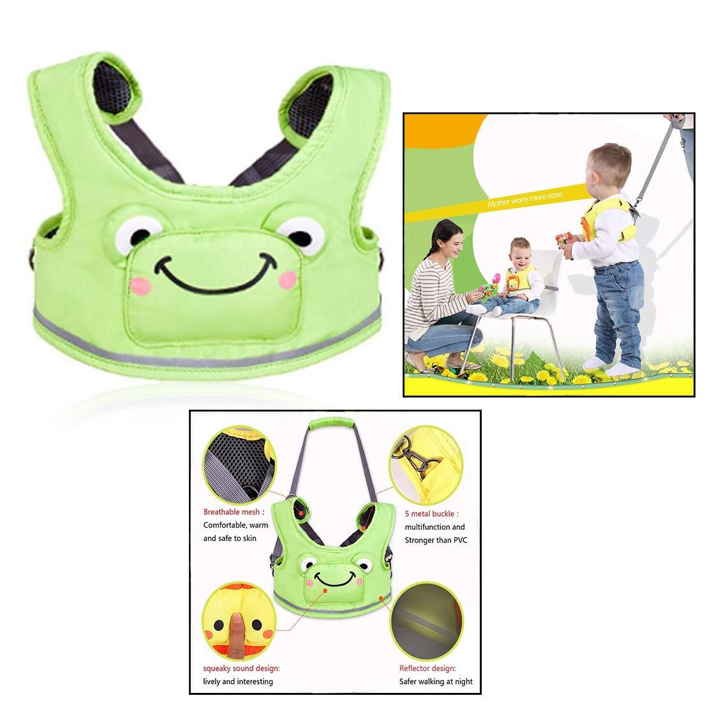 OFKPO 3 en 1 Arnés de Seguridad Multifunción Ajustable para Aprender a Caminar Bebe y Anti-Lost