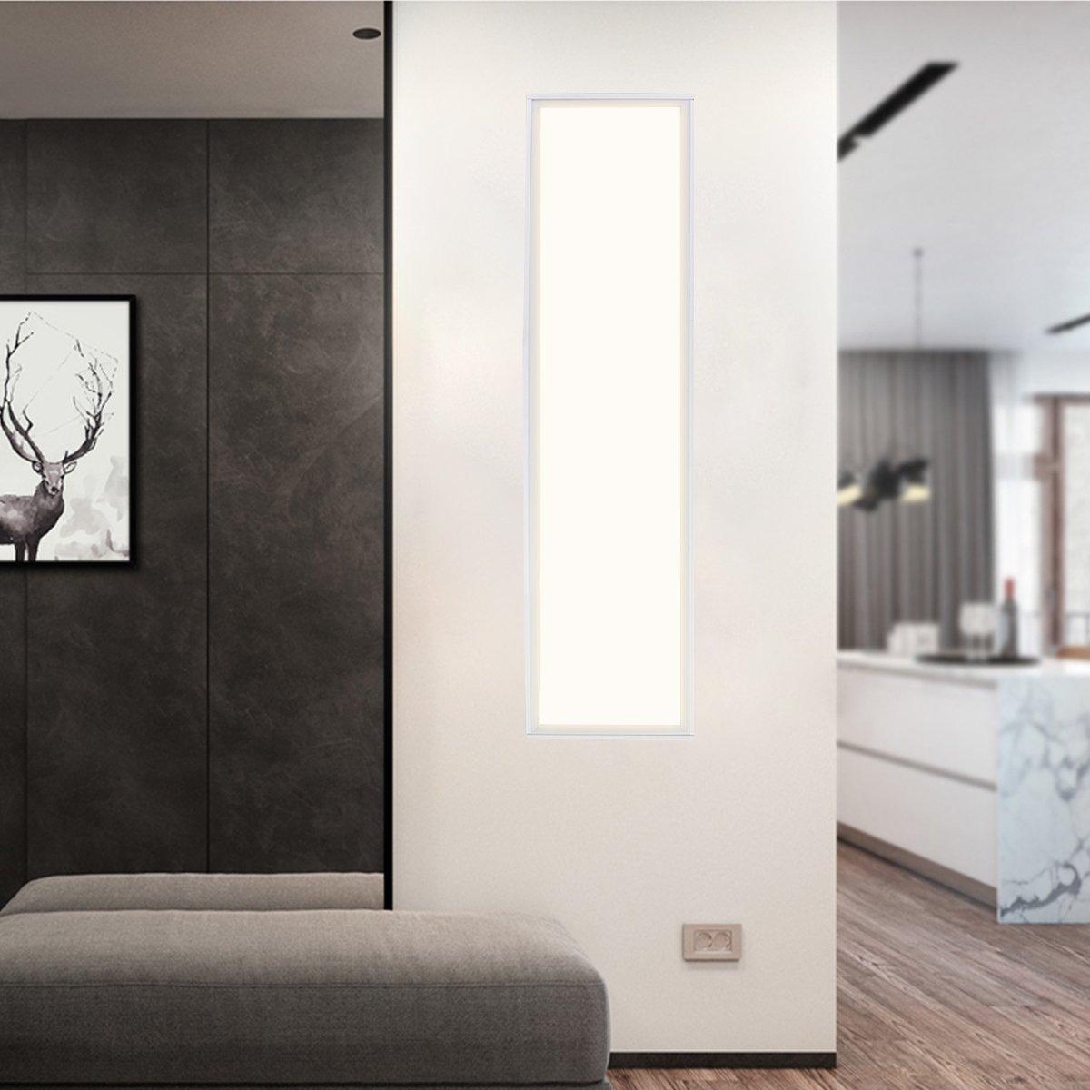 LED Panel Rahmen Aufputz 120x30 LED Panel Deckenrahmen für Wand- und ...