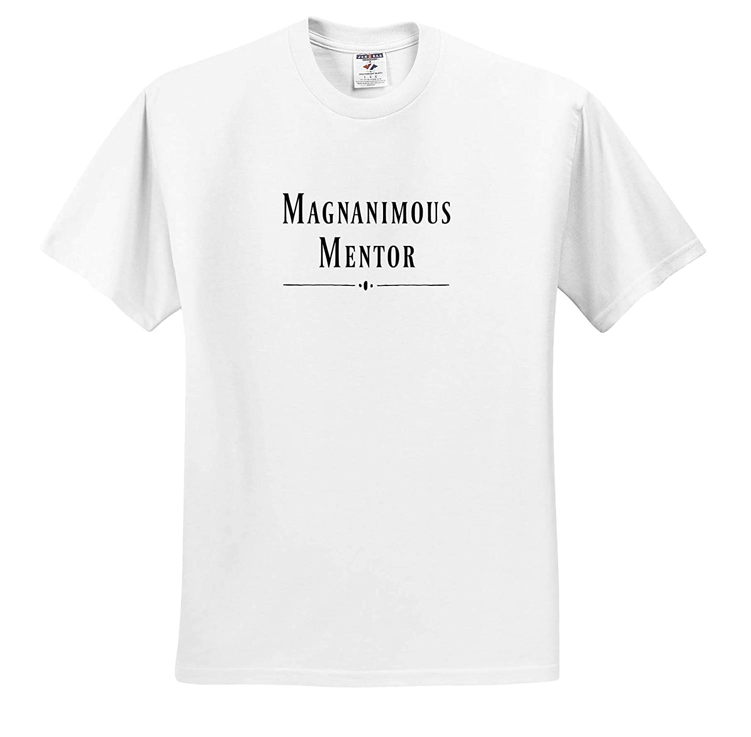 3dRose Carrie Merchant Image Adult T-Shirt XL Image of Magnanimous Mentor ts/_309549