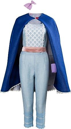 MingoTor Anime Bo Peep Outfit Disfraz Traje de Cosplay Ropa Mujer ...