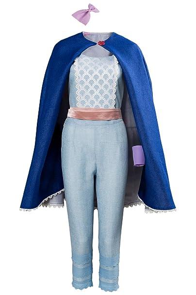 Amazon.com: SUPERCOS Disfraz de pastor azul para mujer con ...