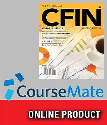 Amazon coursemate for besleybrighams cfin 4 4th edition coursemate for besleybrighams cfin 4 4th edition fandeluxe Images