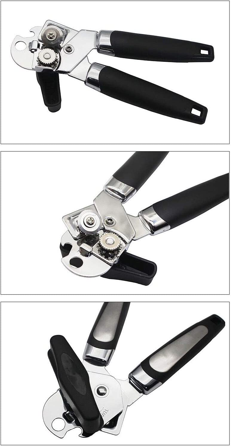 3-in-1 Manual Can Openers Chirano Can Opener Jar Opener and Bottle Opener in One