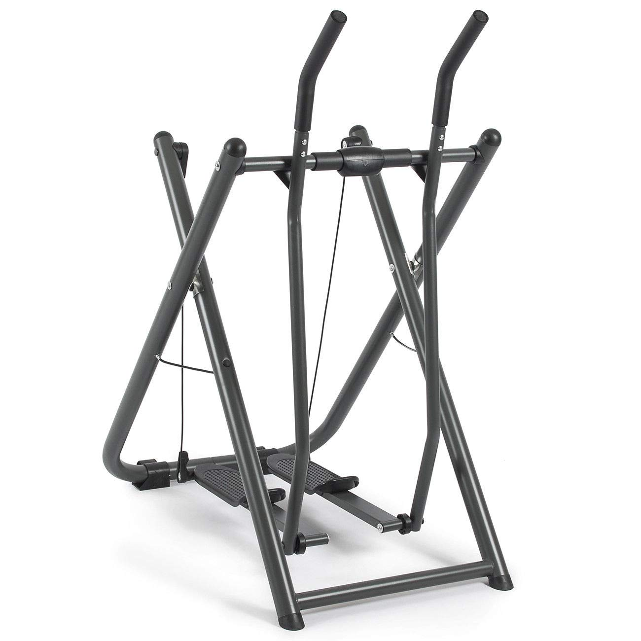 nitipezzo High-Performance, Extra-Wide Edge Glider Elliptical Exercise Machine Fitness Home Gym Workout Air Walker New